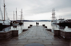 oslo (52fragments) Tags: love oslo norway loneliness harbour blah