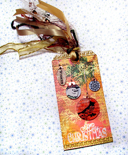 Charm Ornaments Tag