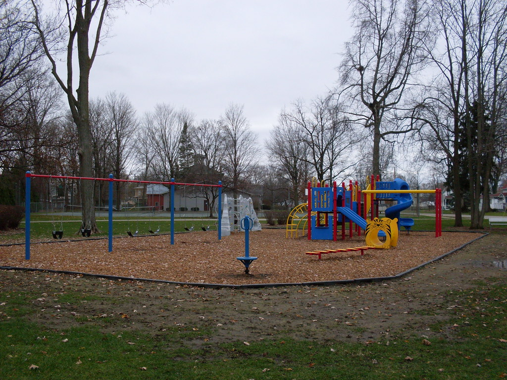 Schoolcraft, Michigan - New Playground Equipment