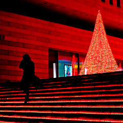 Underworld (irene gr) Tags: city red urban black night dark square lights interestingness athens explore frontpage redlights sihlouette leicasummicron lx3 dmclx3 panasoniclumixlx3 irenegr
