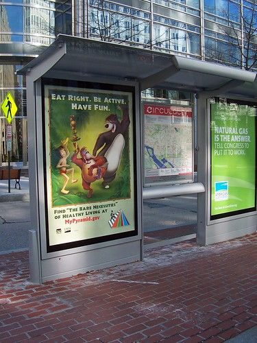 100_9175 Jungle Book USDA bus stop ad
