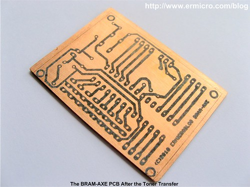 Make your own Microcontroller Printed Circuit Board (PCB) using the Toner Transfer Method 07