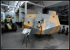 St Chamond (Front) (Kensai65) Tags: museum tank armor ww2 ww1 armour normandy 1944 tanks afv militaryvehicles saumur militaryvehicle armoured saumurtankmuseum carsweaponsmilitary