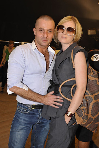 Alexandre Vauthier and Roisin Murphy
