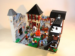 Burning Witch #02 (marcosbessa) Tags: castle lego witch contest burning ccc colossal moc comunidade0937 marcosbessa