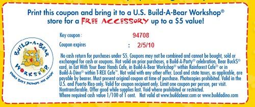 Free Build a Bear Accessory