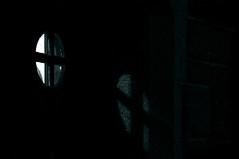 Where there is light, there is hope (Benedictus Schwartze) Tags: door light church window night dark hope gothenburg vasakyrkan