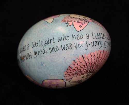 Nursery Rhyme Ukrainian Egg