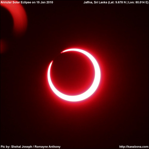 Photos of Annular Solar Eclipse 15th January 2010, Longest in this millenium