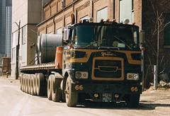 Brockway COE (PAcarhauler) Tags: truck mack coe brockway