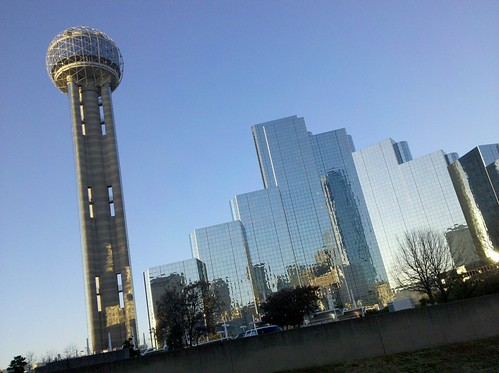 The shining Reunion Tower, location of the 2010 TETA conference.