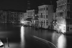 Grand Canal Evening Study in Mono, Venice (Marshall Ward) Tags: venice italy marshall ward grandcanal rialto gondolas lido stmarkssquare veneto vendeig