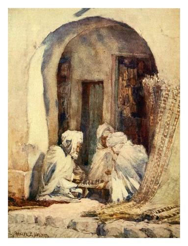 025-Jugando al ajedrez en Argelia-Algeria and Tunis (1906)-Frances E. Nesbitt