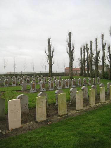Belgische militaire begraafplaats, Steenkerke