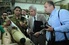Ambassadors, Diplomats, and Military Attaches Examine Weaponry (Israel Defense Forces) Tags: geotagged israel iran navy mortar grenades illegal rocket raid weaponry israeli missiles weapons idf polyethylene smuggling francop israeldefenseforces hiddenweapons geo:lon=34650192 geo:lat=31829732
