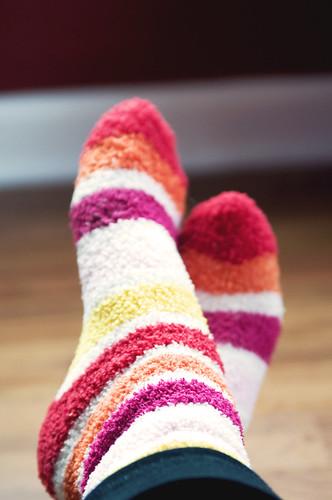2.1.10:  fuzzy socks