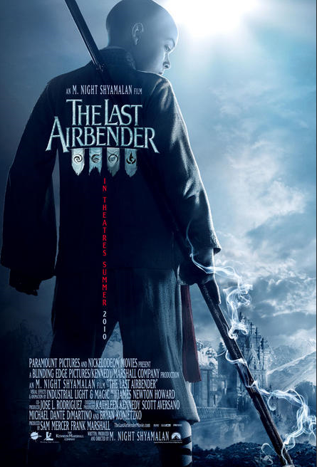 The Last Airbender Movie Poster Aang Poster