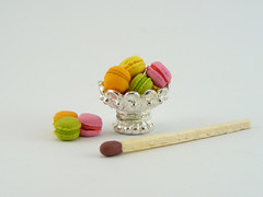 1:12 Scale Macaroons (Shay Aaron) Tags: scale french dessert miniature rainbow colorful almond fake macaroon pastry faux etsy 12th 112 dollhouse macaron      ganach