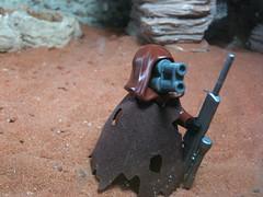Night In The Apocolapse (Txicbricks) Tags: trooper blood gun lego fig zombie ba rare proto apoc apocolapse