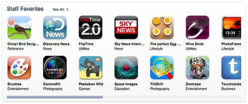 US iTunes AppStore Stuff Fevorites