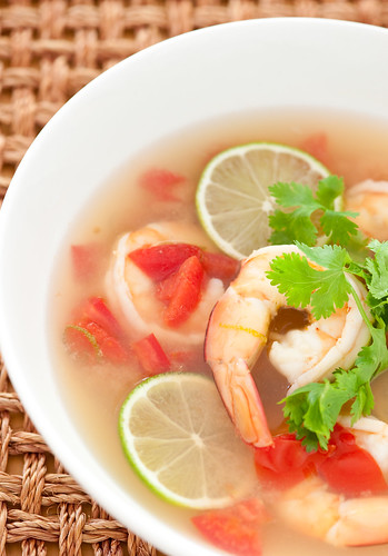 hot prawn soup