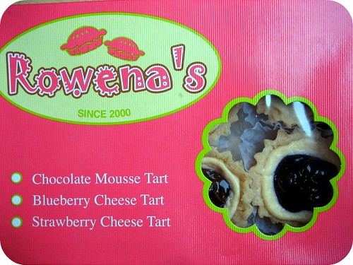 Rowena's Blueberry Cheese Tarts