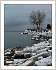 Lake Ontario Morning (_ Marty Lang _) Tags: winter lake ontario cold outdoors rocks shore lakeontario blufferspark scarboroughbluffs