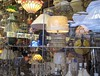 lights 3 (RoseBridger) Tags: light reflection window shop retail yorkshire multicolor multicolour huddersfield lightshop