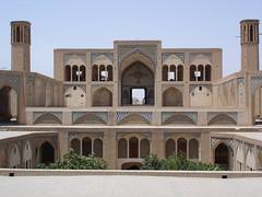 Kashan, Agha Bozorg Mosque (Prof. Mortel) Tags: iran kashan