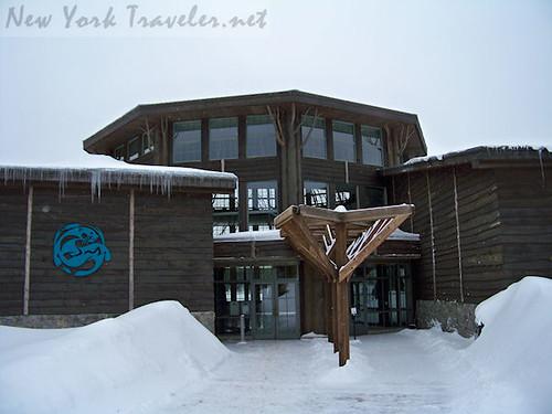 Wild Center Entrance