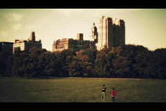 [The Avalon Serie] דואַלאַטי (- Loomax -) Tags: trees two urban newyork green sunshine buildings book daylight glow centralpark dream fantasy childrens cinematic 169 symbolism sgr onirism theavalonserie