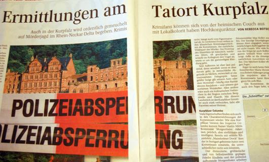 Regionalkrimi Kurpfalz Ermittlungen am Tatort Kurpfalz Brigitte Stolle Bienenstich