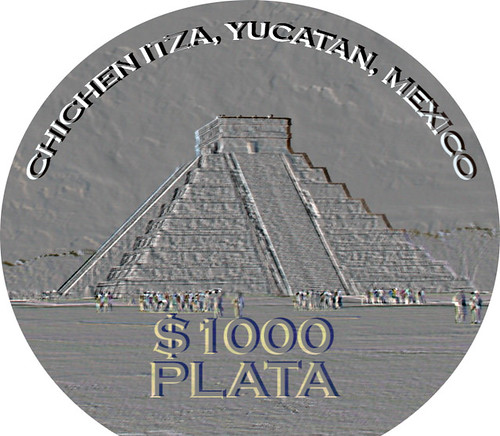 Chichen Itza will be memorialized in five new silver coins