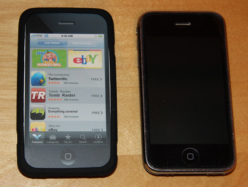 Proporta Antimicrobial Silicone Case with SteriTouch (Apple iPhone 3G)