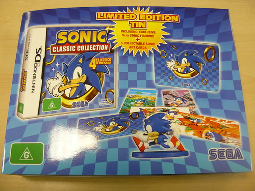 Sonic Classic Collection - Aus/Spain Boxset O-Ring