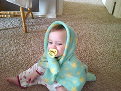 Liesl in a Blanket