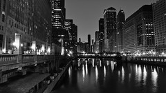 View From Franklin Ave Bridge (jp_42) Tags: chicago night river dawn slow jonathan shutter parker merchandisemart