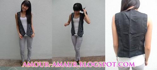 studded indie vest