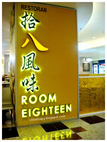Room Eighteen, Berjaya Times Square