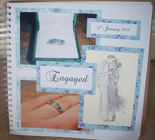 scrapbook - Engaged