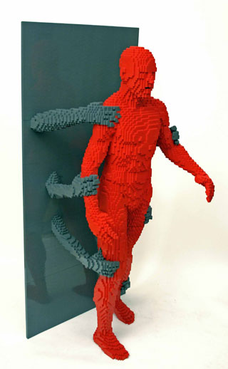 LEGO Sculptures by Nathan Sawaya