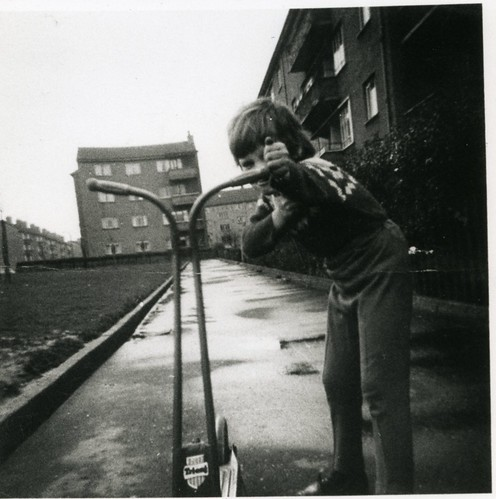 Anne Ledger The Square Bellrock Street Lamlash Cresent 1960s