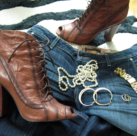 sam edelman boots pearls gold jewelry paige premium denim jeans