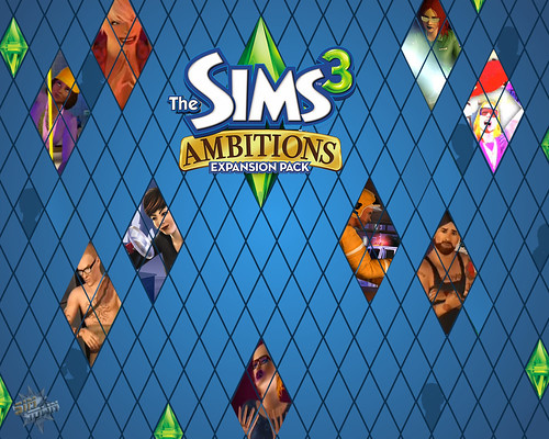 Wallpaper The Sims 3 Ambitions #4 por você.
