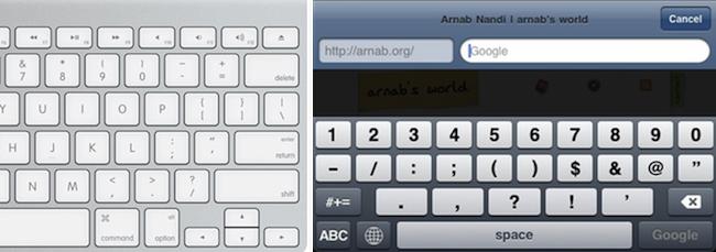 iPad Keyboard Layout WTF   Arnab Nandi