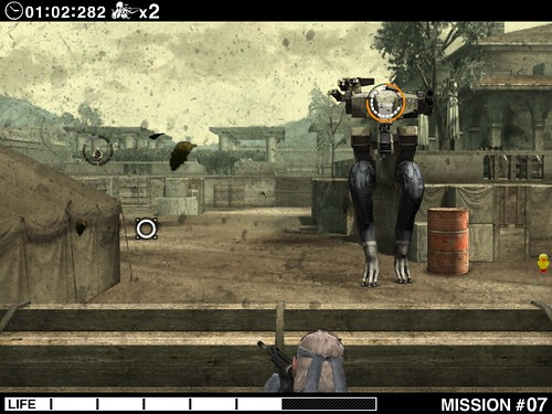 Metal Gear Solid Touch iPad screenshot 5