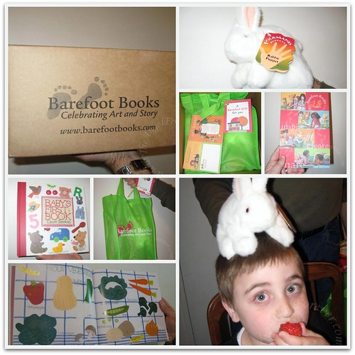 Our Barefoot Books package