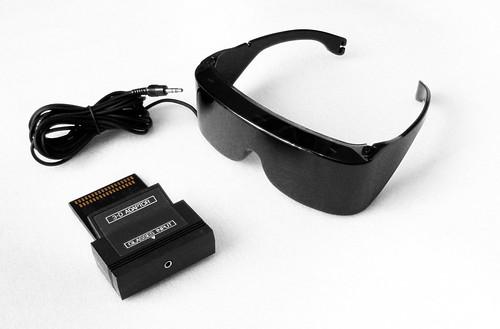 SEGA Master System 3D Glasses
