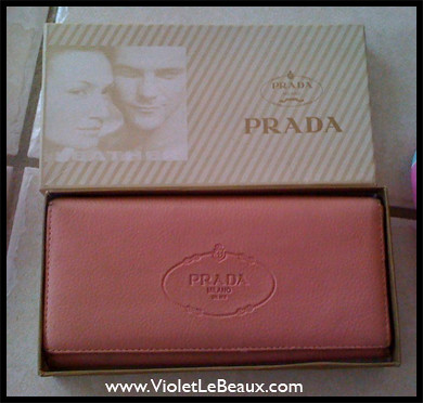 prada purple leather wallet - How a Fake Prada Wallet Stole Several Hours of My Life - Violet ...