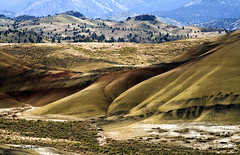 My backyard (walla2chick) Tags: colorful hills layers paintedhills johndayfossilbeds 0150